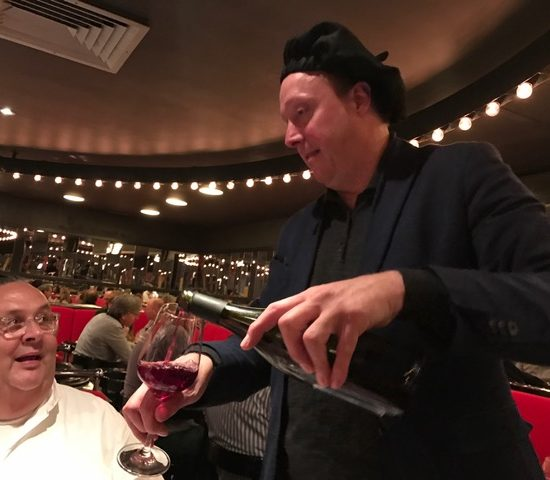 beaujolais primeur in restaurant Le Garage, Amsterdam