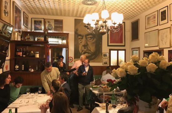 Bij Al Moro in Rome kan je goed eten