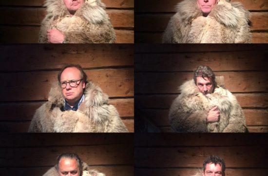 Bij Faviken met Ron Blauwe, Julius Jaspers en Hans Van Wolde